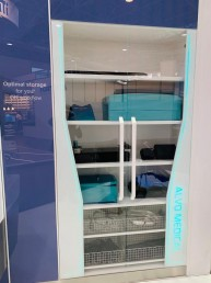 modular OR cabinet antimicrobial glass