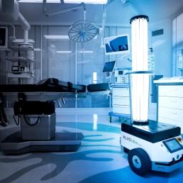 ALVO Ultra V-bot disinfecting robot