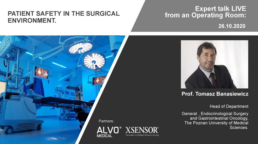 WEBINAR: Patient safety in the surgical environment.